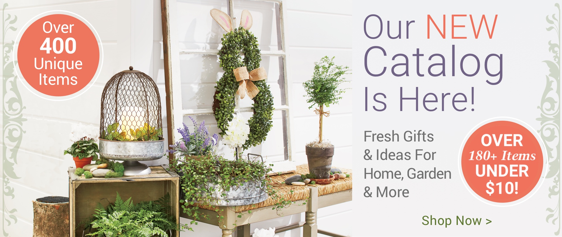 Our Spring Catalog Is Here. Shop now.