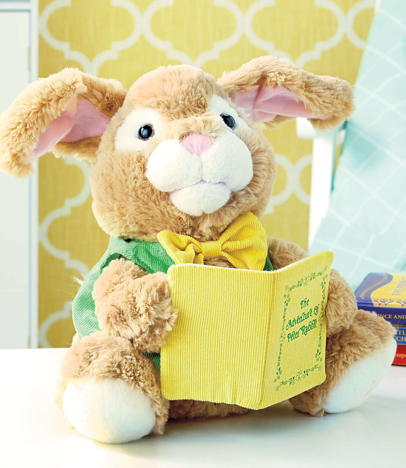 Stuffed animal toy for Easter.
