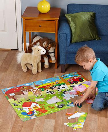 5 Benefits of Puzzle Play For Kids