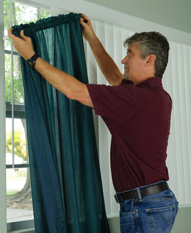 10 Helpful Tips On How To Hang Curtains