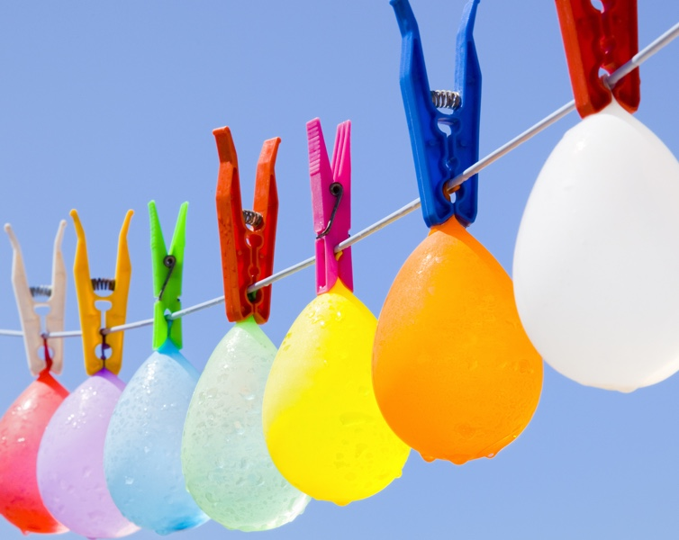 Water Balloon Garland