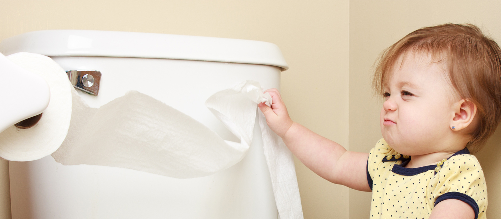 Baby-proofing your bathroom