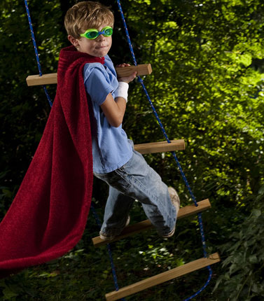 Try these backyard science projects to make your kid feel like a real superhero!