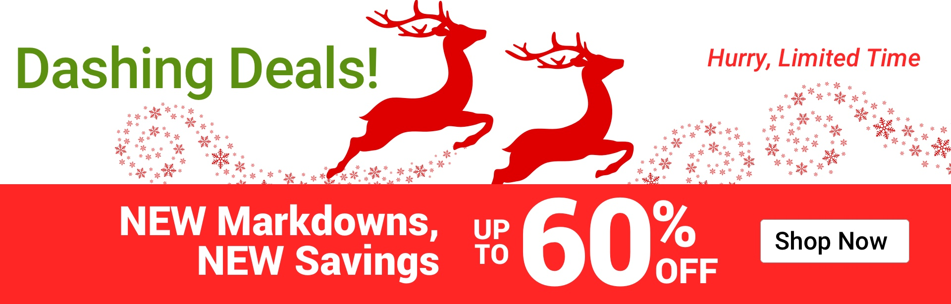 Dashing Deals. NEW Markdowns up to 60% OFF. Shop Now