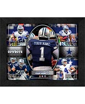 Personalized NFL Action Collages