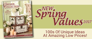 New Spring Values 2017 100s of unique ideas at amazing low prices.