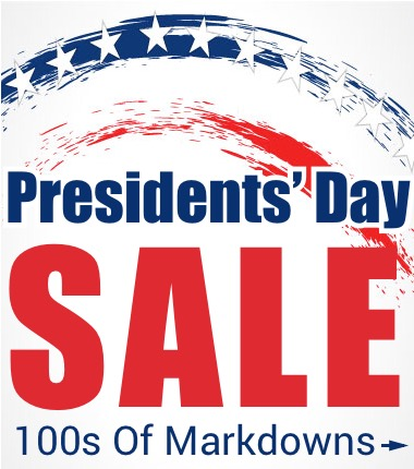 Presidents' Day Sale>