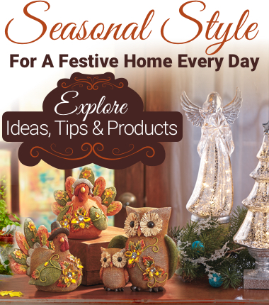 Seasonal Style For A Festive Home Every Day Explore Ideas Tips and Products