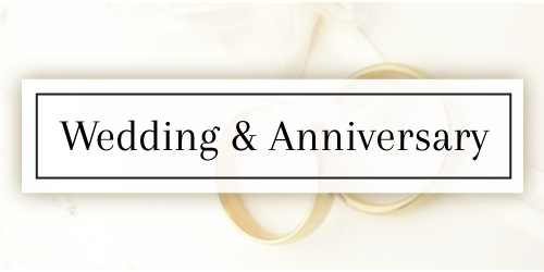 Wedding & Anniversary