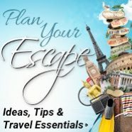 Plan your escape. Ideas, tips and travel essentials.