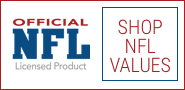 Official NFL Licensed Products Shop NFL Values