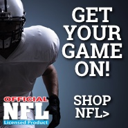 Get your game on! Shop NFL.