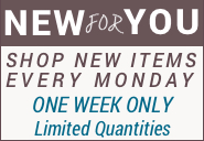 New For You Shop New Items Every Monday