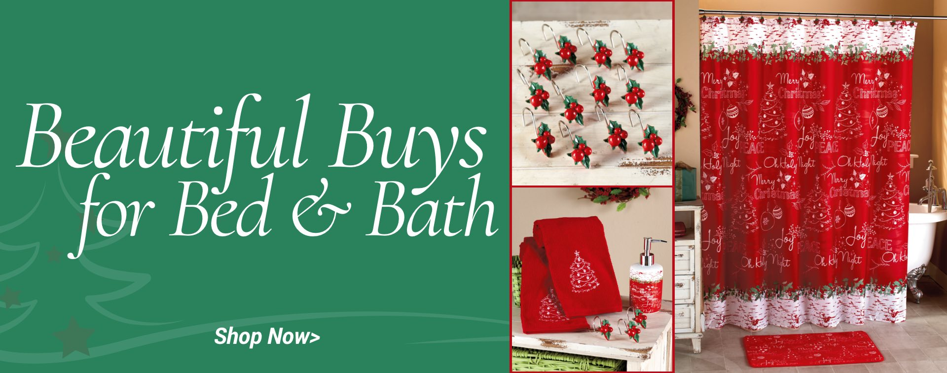 Beautiful buys for bed & bath. Shop now.