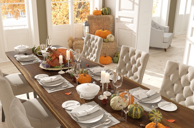 Perfect Thanksgiving Tabletop