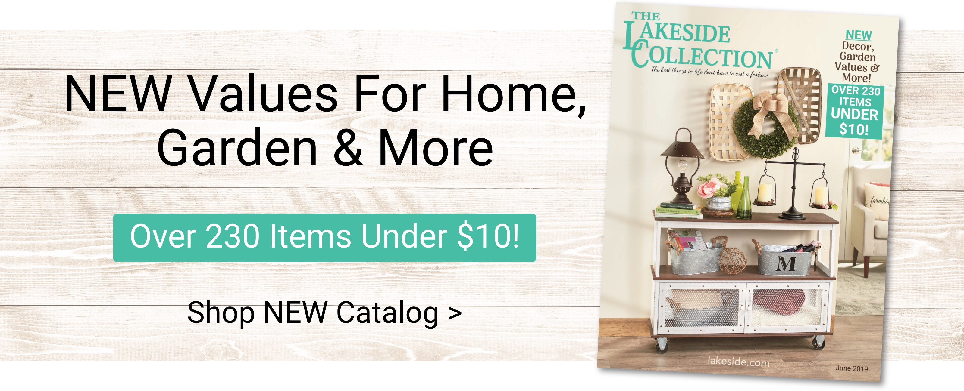 New values for home, garden and more. Over 230 items under $10. Shop now
