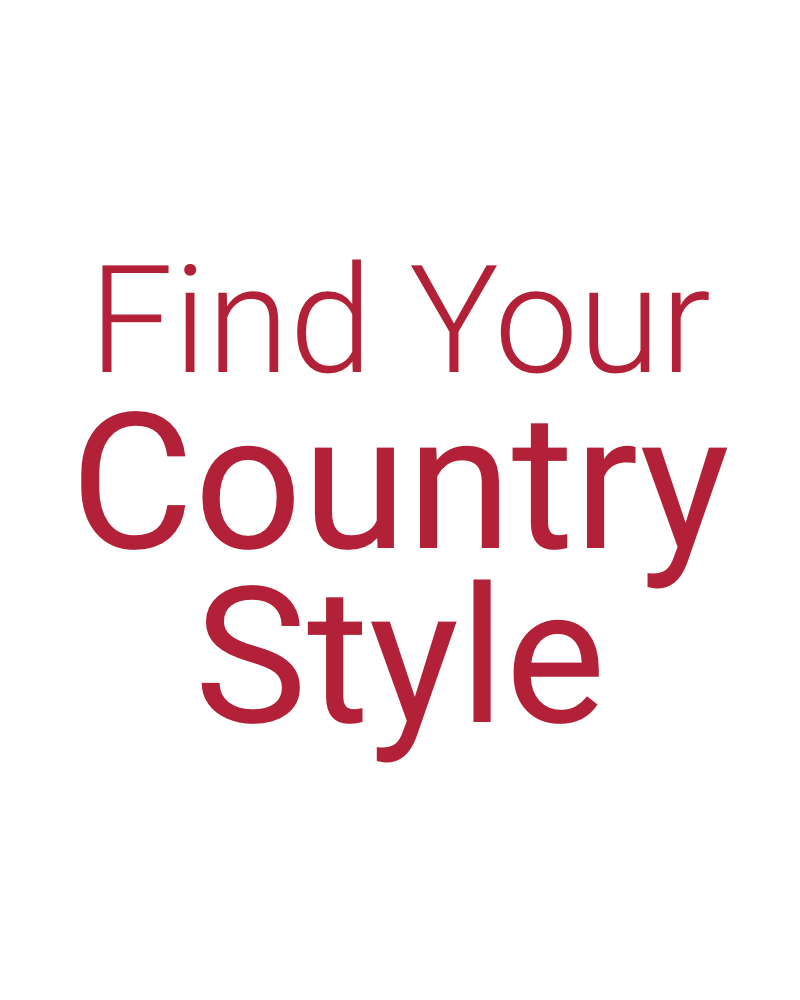 Find your country style