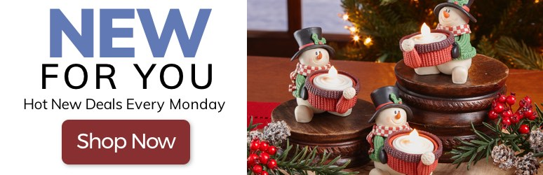 New For You. Shop Hot New Deals Every Monday