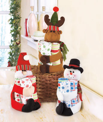 4-Pc Holiday Gift Towel Set