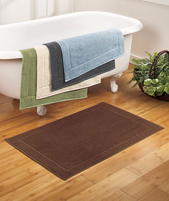 Oversized Quick-Dry Bath Mat
