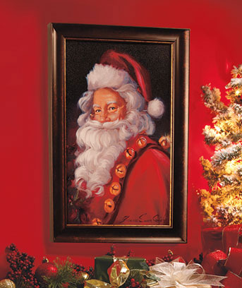 & Traditional Santa Wall Art | The Lakeside Collection