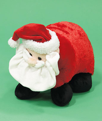Holiday Santa Pet Pillow