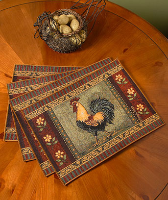 Tapestry Table Runner Or Placemat Sets