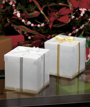 Large Color-Changing LED Gift Box Sets