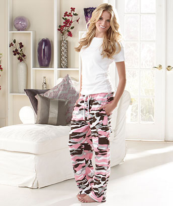 Women's Camo Cargo Sweatpants