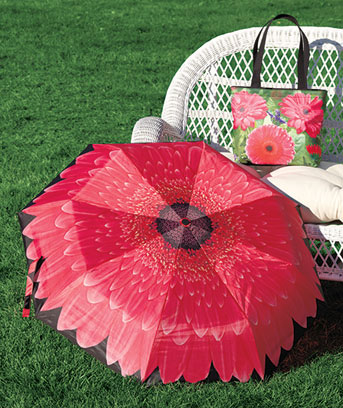 Floral Umbrellas Or Tote Bags