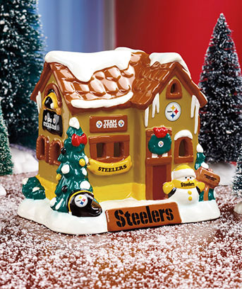 NFL Collectible Holiday Houses