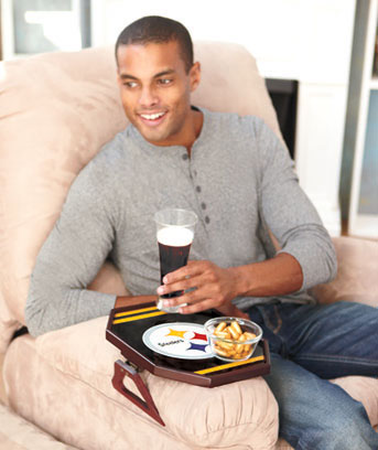 NFL Sofa Arm Tray Table