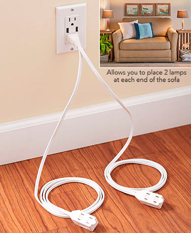 Split Extension Cord