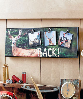 Outdoorsman Photo Wall Plaques