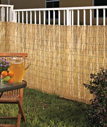 Reed Privacy Fence