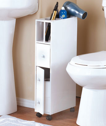 Space-Saving Bathroom Organizers