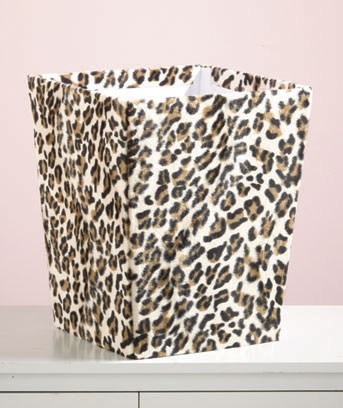 Genial Animal Print Storage Bins