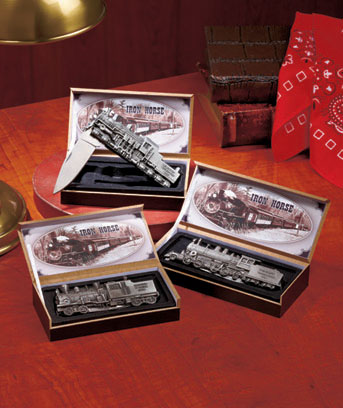 Iron Horse Collectible Train Knives