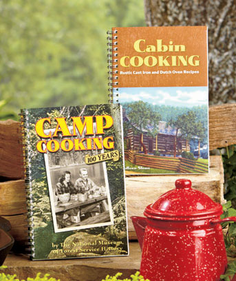 Camp or Cabin Cooking Books