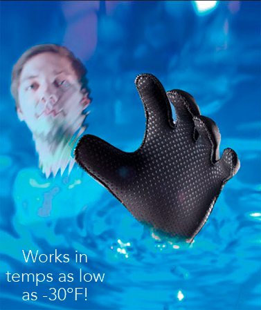 Water-Resistant Gloves or Socks