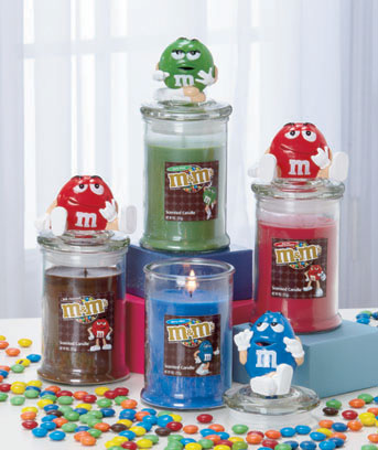 M&M's® Character Jar Candles