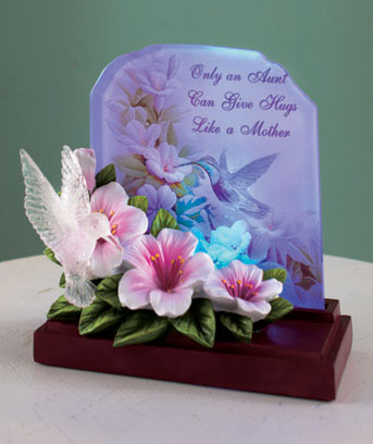 Lighted Sentiment Plaques