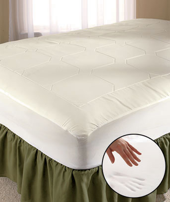 Memory Foam Fitted Mattress Pad