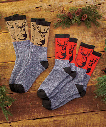 4-Pk. Outdoorsman Sock Sets