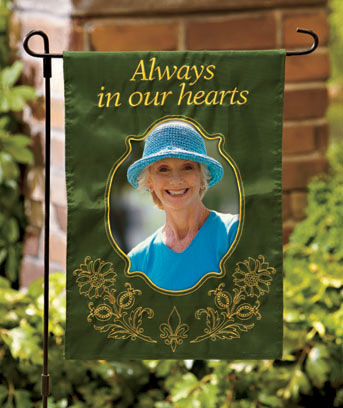 Custom Appliqu� Photo Flags