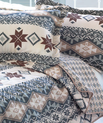 Reversible Printed Quilts or Shams