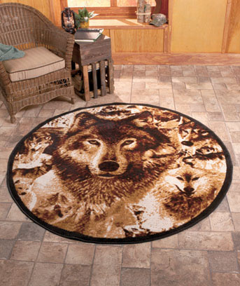 Wolves Rugs