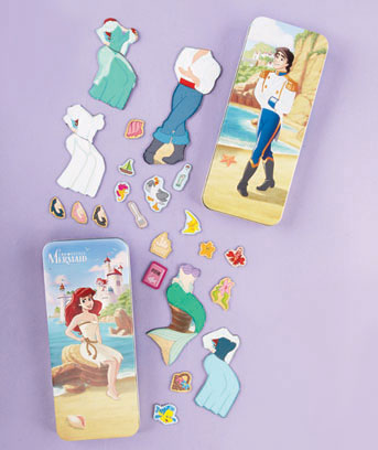 Little Mermaid Disney� Magnetic Paper Dolls