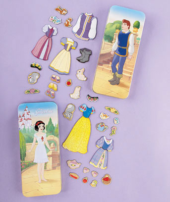 Snow White Disney� Magnetic Paper Dolls