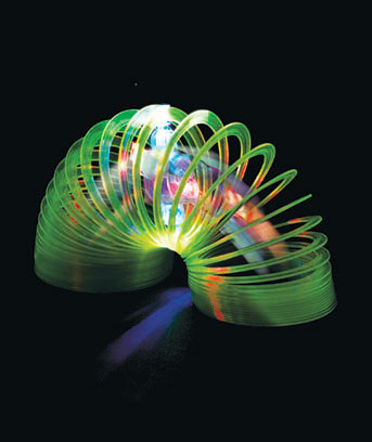 Light-Up Color-Changing Slinky�